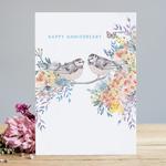 Louise Tiler Happy Anniversary Card