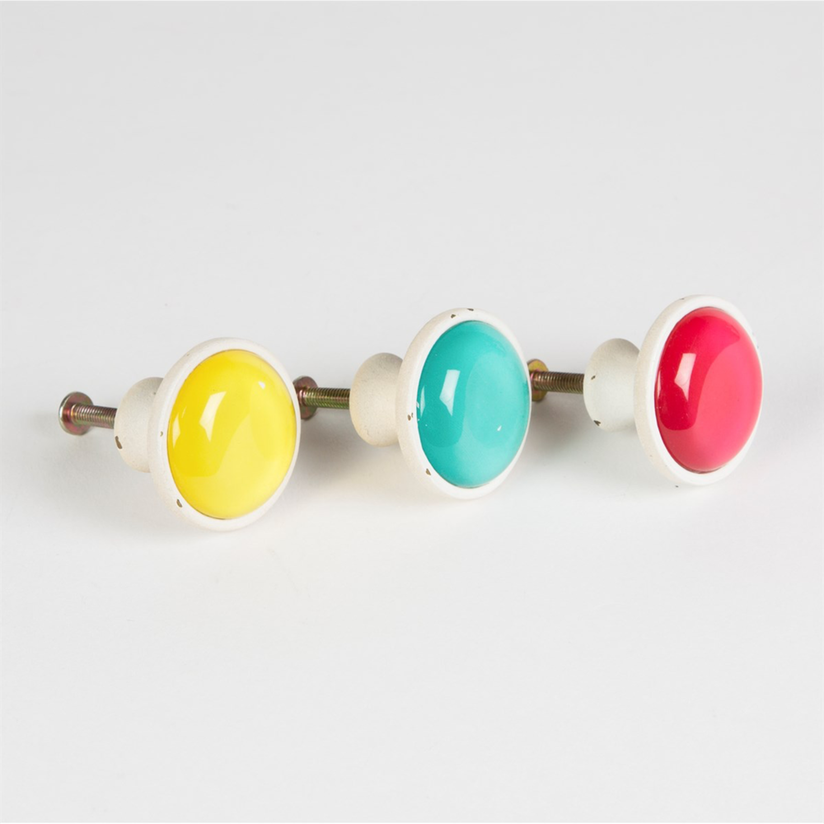 Sass and Belle Bold Brights Drawer Knob (YELLOW)