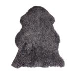 Hanlin LTD Single Curly Sheepskin Grey Size: Single Medium 90 cm+ All Hides Are Natural & Will Vary