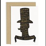OLD ENGLISH CO. Gentleman Card