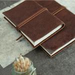 Nk Kadira Leather Journal - Dark Tanned - A6