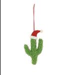 Fiona Walker Fiona Walker Santa Hat Cactus Christmas Tree Decoration