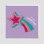 Redback Cards Star Reversible Sequin Card