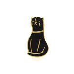 OLD ENGLISH CO. Cat Enamel Pin