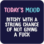 Dean Morris Today's Mood Rude Coaster
