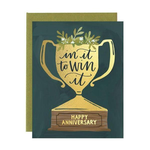 1CANOE2 Anniversary Trophy Card