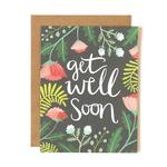 1CANOE2 Get Well Soon Floral Card
