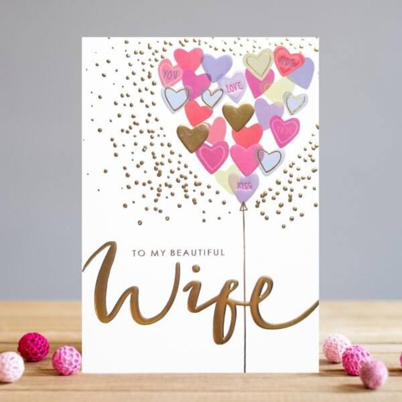 Louise Tiler BEAUTIFUL WIFE CARD