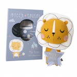 Picca Loulou PICCA LOULOU Lion White in Gift Box - 18 cm
