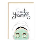 Jade Fisher Treat Yourself Spa Pamper Card
