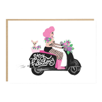 Jade Fisher Stay Fabulous Scooter Card