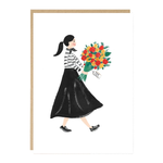 Jade Fisher Flowers For You Card