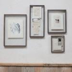 Nk Indu Wooden Frame - Dark Brown - 36 X 29cm