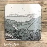 Homebird Coaster Scalby Mills - Alex Anderson Scarborough Single Tableware