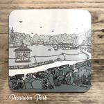Homebird Coaster Peasholm - Alex Anderson Scarborough Single Tableware