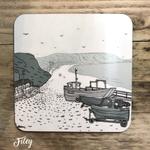 Homebird Coaster Filey - Alex Anderson Single Tableware
