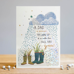 Louise Tiler A Dad is Someone to Look Up To Card