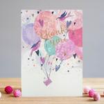 Louise Tiler Thank You Bird Card