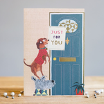 Louise Tiler Just For You Dog Card