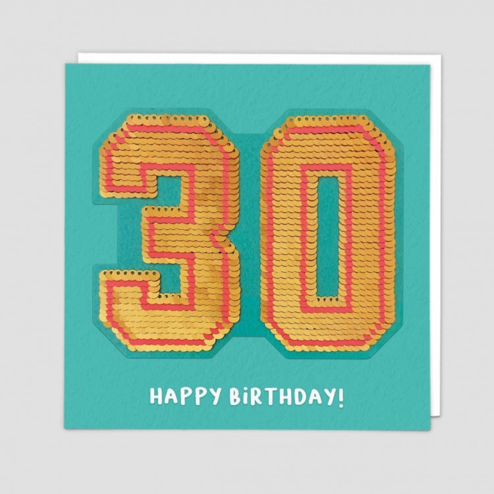 Redback Cards 30th Birthday Reversible Sequin Card