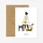 All The Ways To Say Madame Chien (Dog Lady) Card