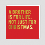 Redback Cards Brother for Life Card