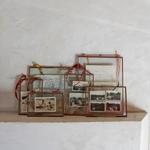 Nk Kiko Glass Frame Antique Copper (medium portrait)