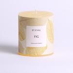 St. Eval St Eval Fig, Eden Pillar Candle