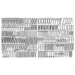 Chispum Extra Large Skinny Type Wall Sticker