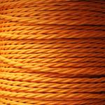 Nook Per Metre - Twisted Flex Apricot 3 core Cable
