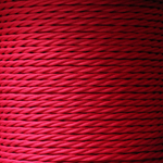 Nook Per Metre - Twisted Flex Scarlet Red 3 core cable