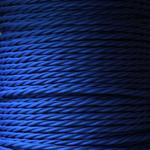 Nook Per Metre - Twisted flex Peacock Blue 3 core cable