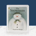 My Design co The Snowman Hardback Board Book - With Glitter Front