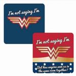 DC comics Coaster Lenticular - Wonder Woman (Stars)