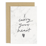 OLD ENGLISH CO. Carry Your Heart Marble Card