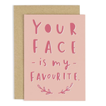 OLD ENGLISH CO. Favourite Face Card