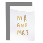 OLD ENGLISH CO. Mr And Mrs - Ombre Card