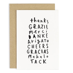 OLD ENGLISH CO. Thank You Languages Card