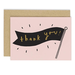OLD ENGLISH CO. Thank You Banner Card