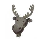 Fiona Walker Fiona Walker Velvet Moose and Herringbone Head