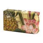 Kew Gardens Kew Gardens Pineapple and Pink Lotus Luxury Shea Butter Soap 240g