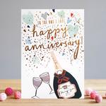 Louise Tiler One I Love Anniversary Card