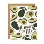 1CANOE2 Avocado Pits Card