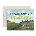 1CANOE2 Endless Possibilities Graduation Card