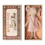 Maileg Maileg Big Sister Mouse in Matchbox - Nightgown