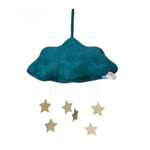 Picca Loulou PICCA LOULOU Corduroy Cloud (Blue) with Stars - 34 cm