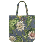 ONE HUNDRED STARS KEW Canvas Bag Passion Flower Grey