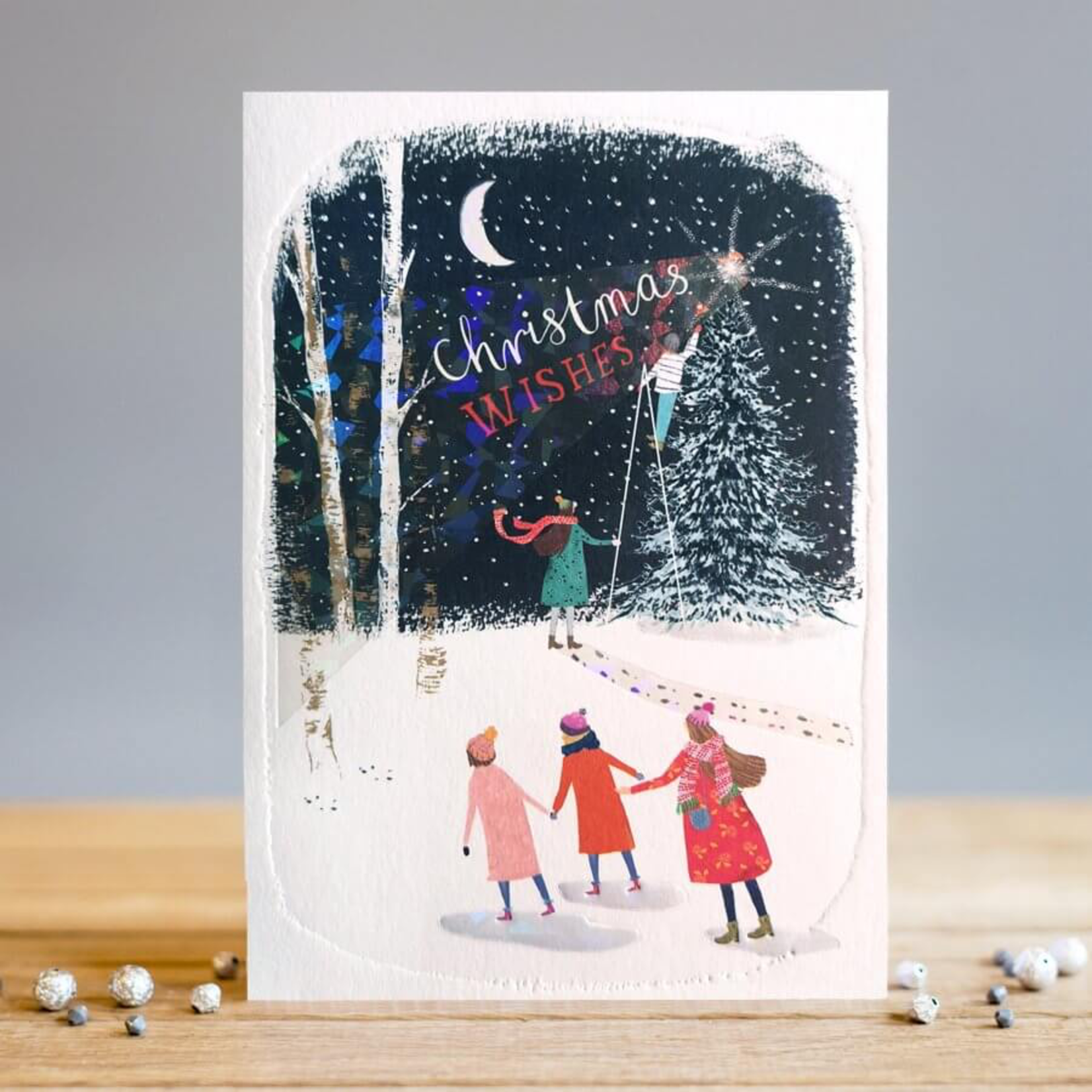 Louise Tiler Christmas Wishes Tree Card