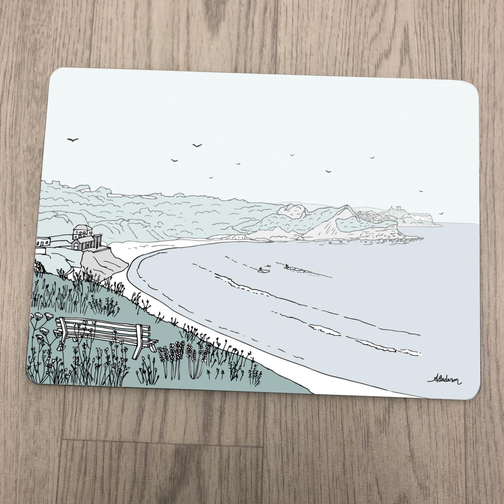 Homebird Placemat Cayton Bay - Alex Anderson Scarborough Single Tableware