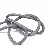 Nud Per Metre NUD Textile Cable/Flex 2 core Pewter